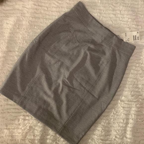Grey Mini Skirt NWT